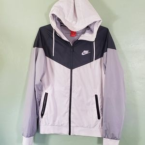 Nike Mens Windbreaker Zip Up Jacket